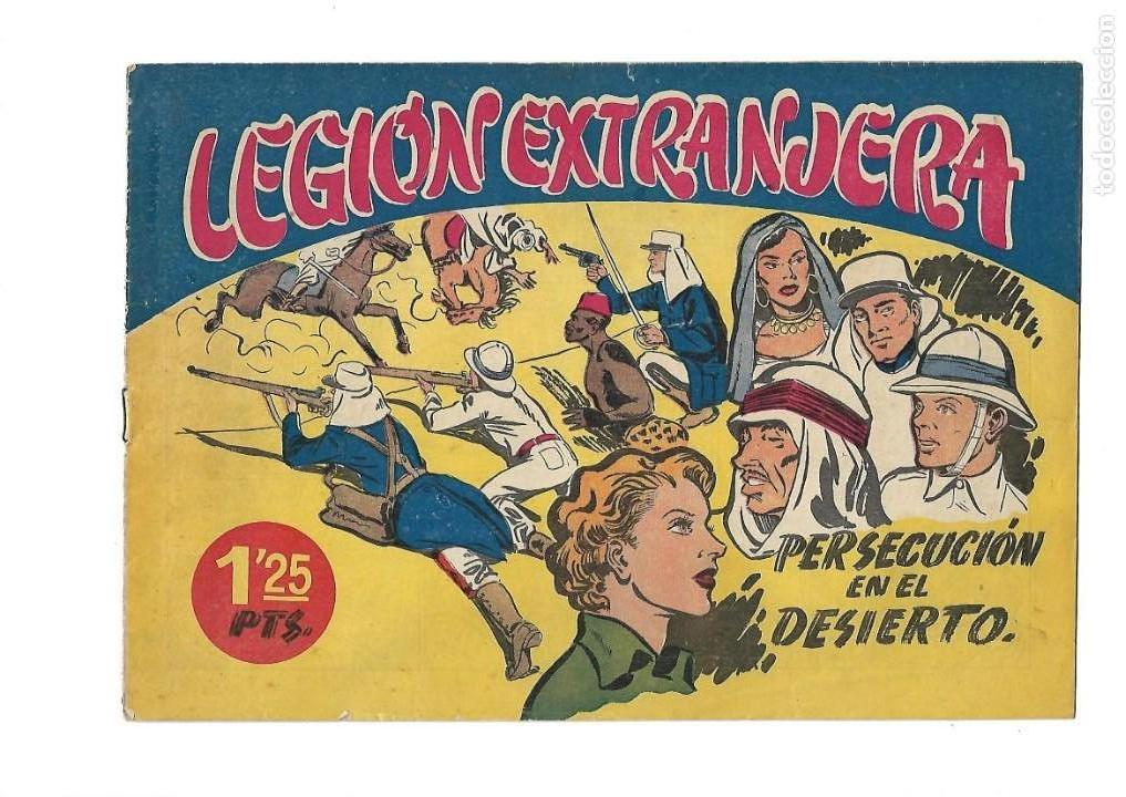 Tebeos: Legión Extranjera, Año 1954 Colección Completa son 22 Tebeos Originales + Almanaque del 1954 dificil - Foto 2 - 146353058