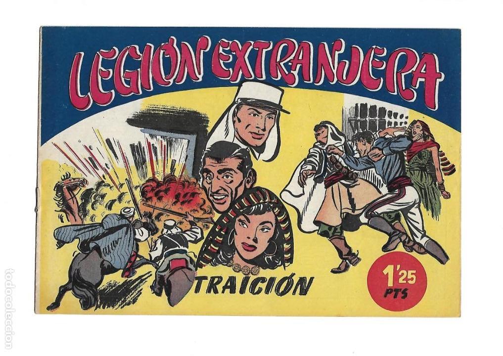 Tebeos: Legión Extranjera, Año 1954 Colección Completa son 22 Tebeos Originales + Almanaque del 1954 dificil - Foto 4 - 146353058
