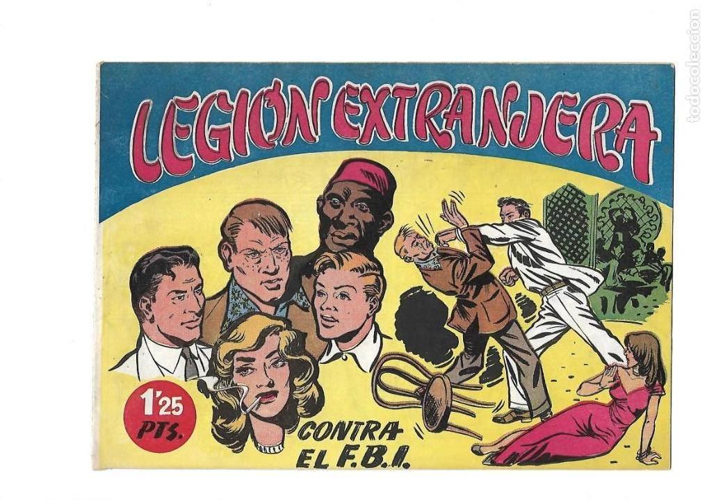 Tebeos: Legión Extranjera, Año 1954 Colección Completa son 22 Tebeos Originales + Almanaque del 1954 dificil - Foto 6 - 146353058