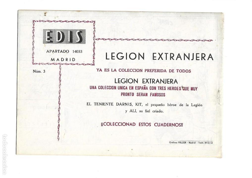 Tebeos: Legión Extranjera, Año 1954 Colección Completa son 22 Tebeos Originales + Almanaque del 1954 dificil - Foto 7 - 146353058