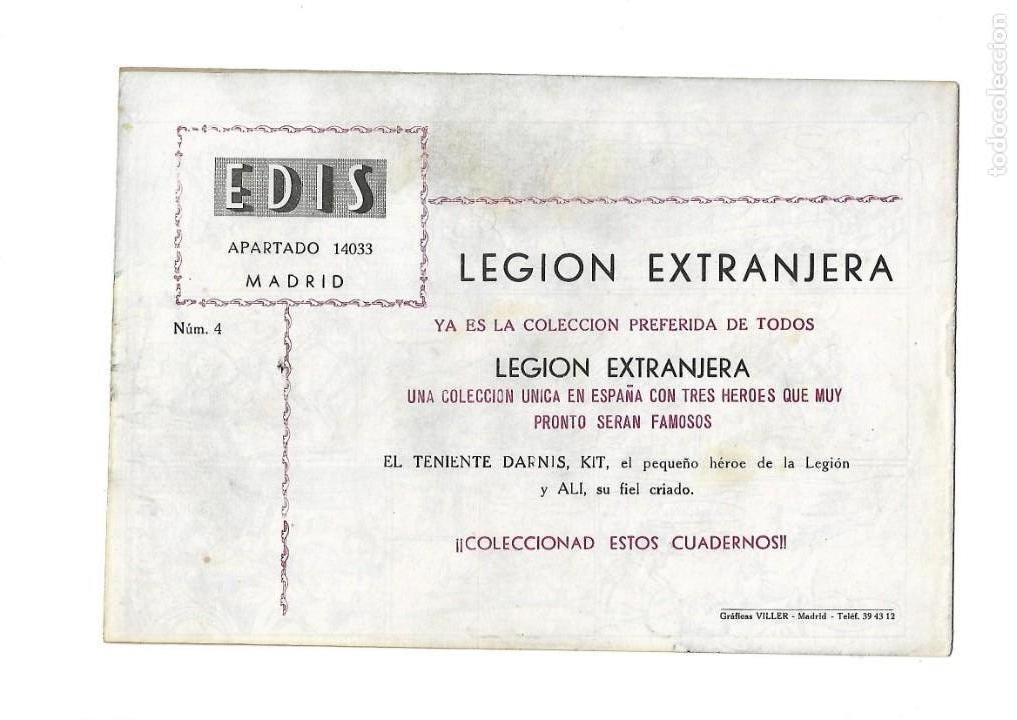 Tebeos: Legión Extranjera, Año 1954 Colección Completa son 22 Tebeos Originales + Almanaque del 1954 dificil - Foto 9 - 146353058