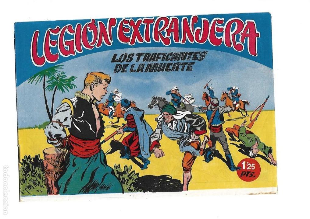 Tebeos: Legión Extranjera, Año 1954 Colección Completa son 22 Tebeos Originales + Almanaque del 1954 dificil - Foto 10 - 146353058