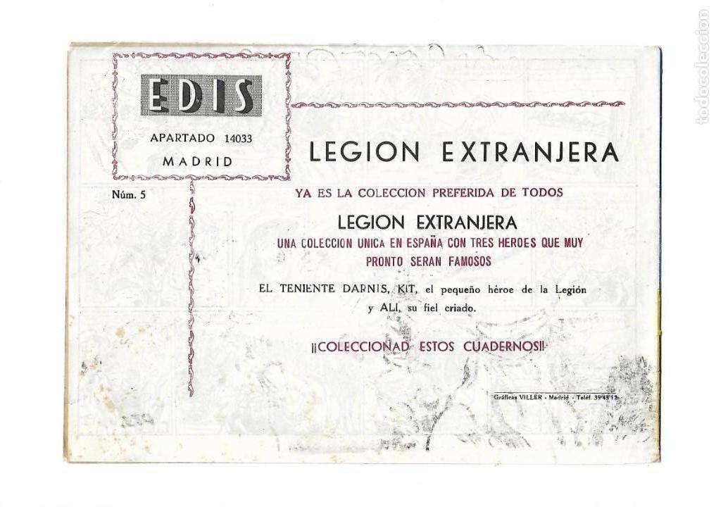 Tebeos: Legión Extranjera, Año 1954 Colección Completa son 22 Tebeos Originales + Almanaque del 1954 dificil - Foto 11 - 146353058