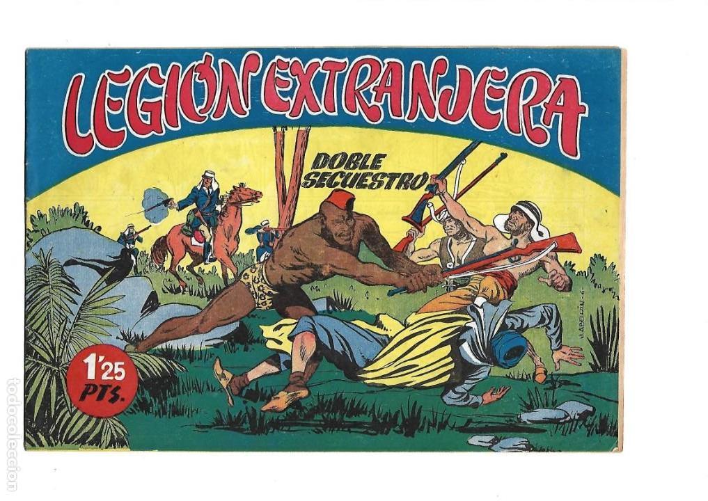 Tebeos: Legión Extranjera, Año 1954 Colección Completa son 22 Tebeos Originales + Almanaque del 1954 dificil - Foto 12 - 146353058