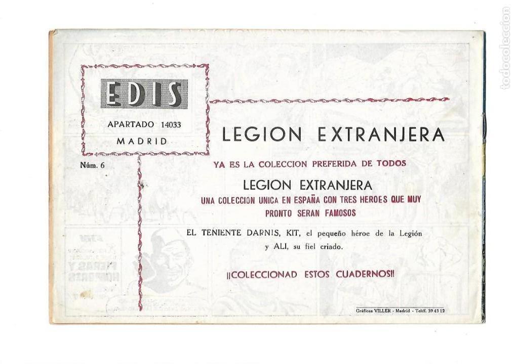 Tebeos: Legión Extranjera, Año 1954 Colección Completa son 22 Tebeos Originales + Almanaque del 1954 dificil - Foto 13 - 146353058