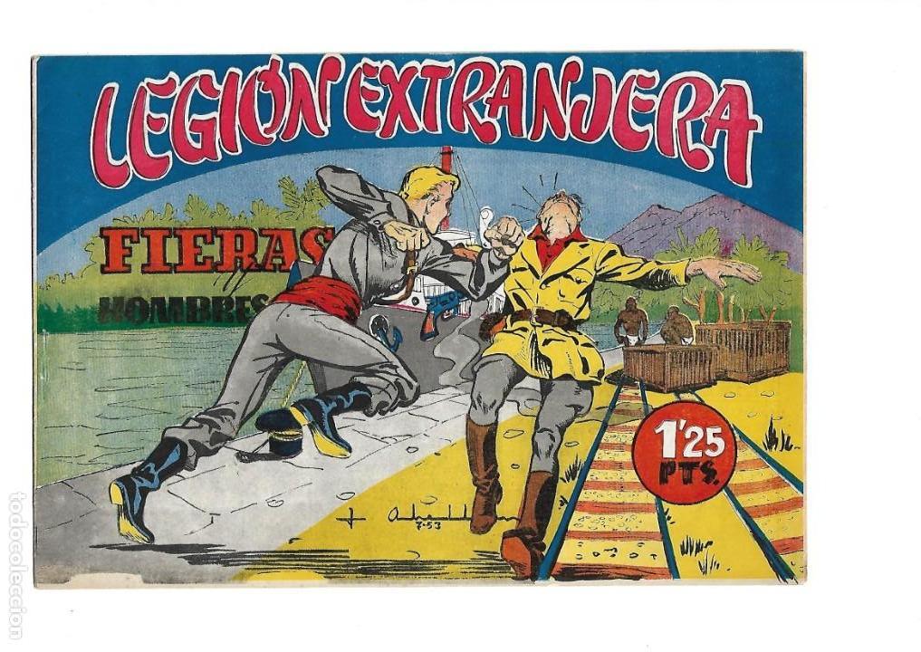 Tebeos: Legión Extranjera, Año 1954 Colección Completa son 22 Tebeos Originales + Almanaque del 1954 dificil - Foto 14 - 146353058