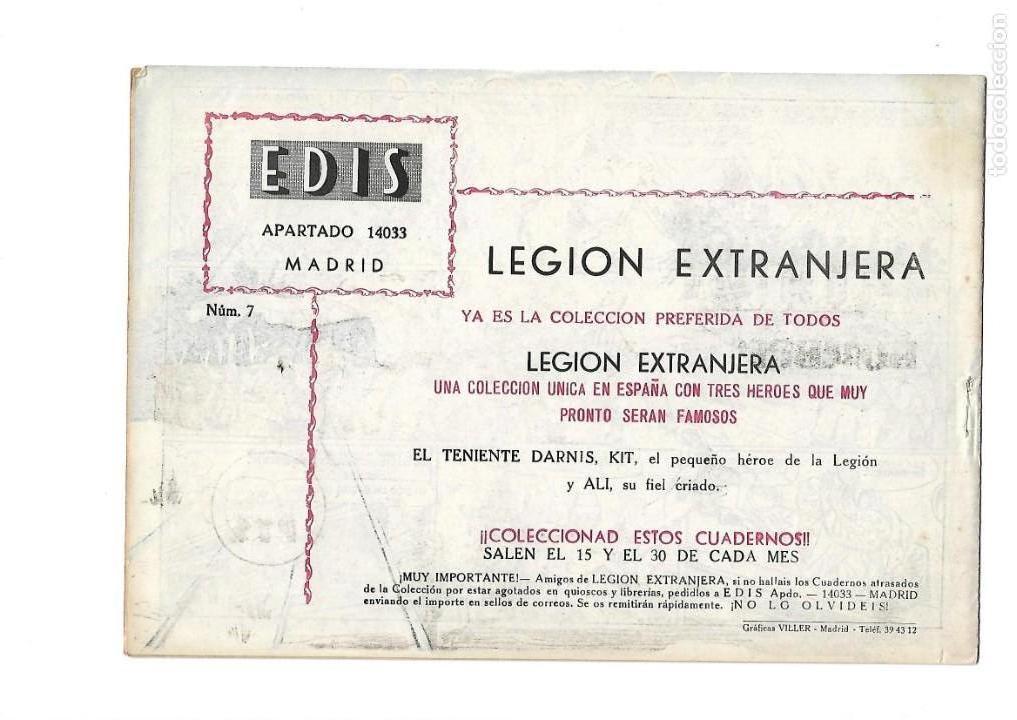 Tebeos: Legión Extranjera, Año 1954 Colección Completa son 22 Tebeos Originales + Almanaque del 1954 dificil - Foto 15 - 146353058