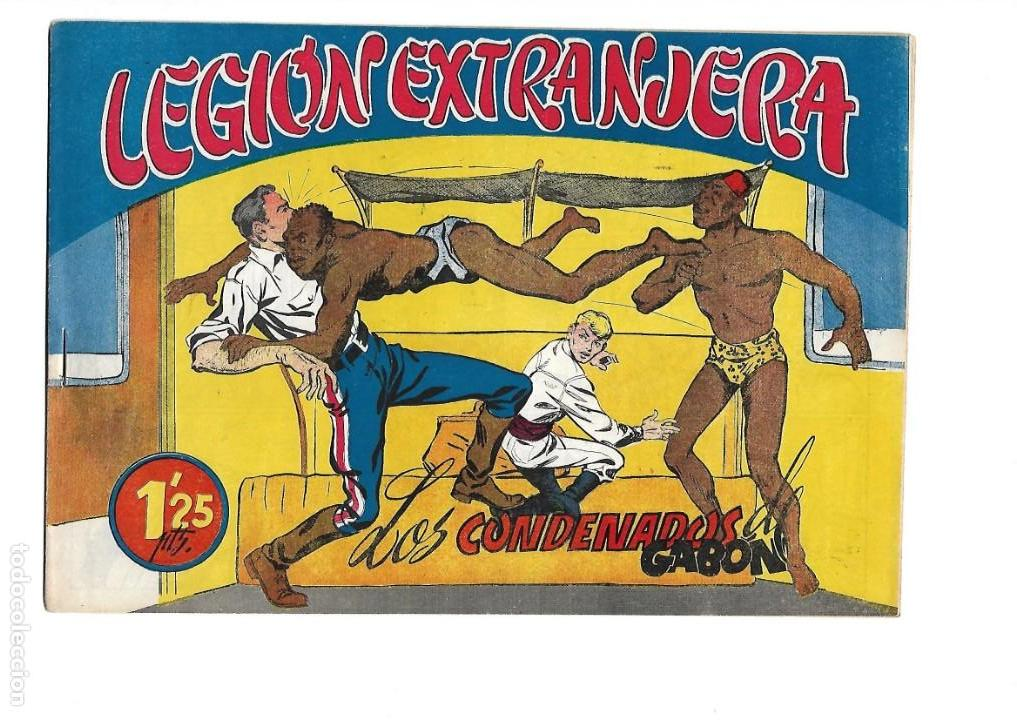 Tebeos: Legión Extranjera, Año 1954 Colección Completa son 22 Tebeos Originales + Almanaque del 1954 dificil - Foto 16 - 146353058