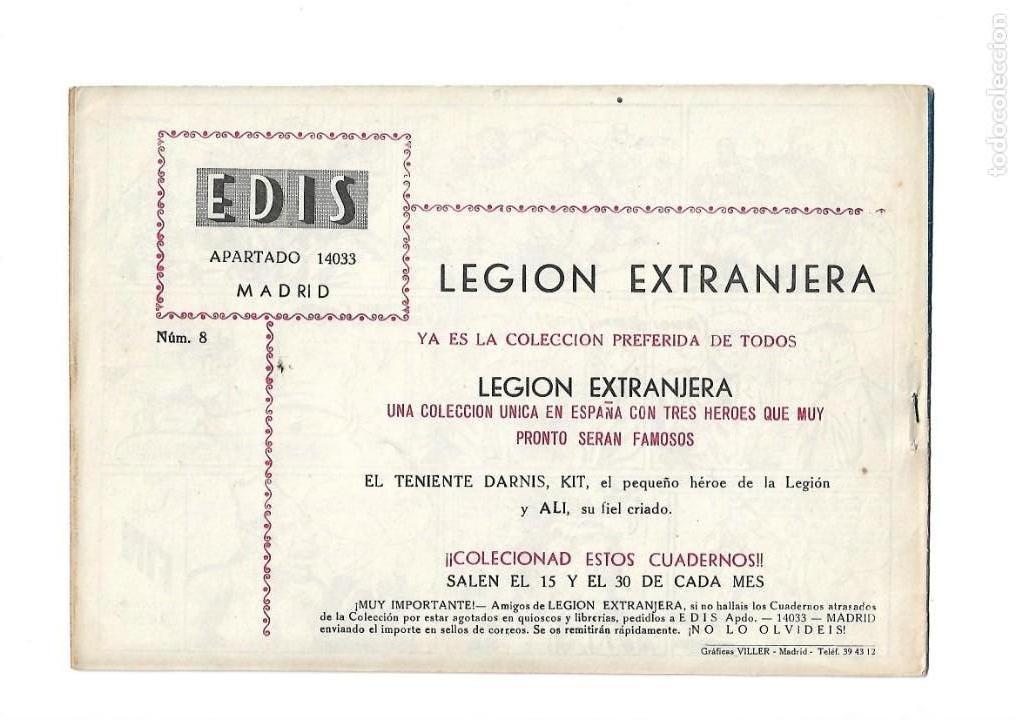 Tebeos: Legión Extranjera, Año 1954 Colección Completa son 22 Tebeos Originales + Almanaque del 1954 dificil - Foto 17 - 146353058