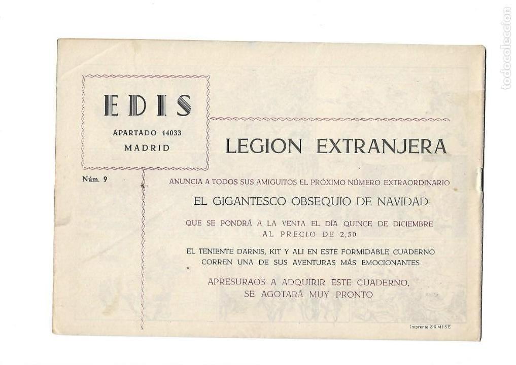 Tebeos: Legión Extranjera, Año 1954 Colección Completa son 22 Tebeos Originales + Almanaque del 1954 dificil - Foto 19 - 146353058