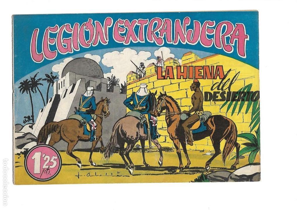Tebeos: Legión Extranjera, Año 1954 Colección Completa son 22 Tebeos Originales + Almanaque del 1954 dificil - Foto 20 - 146353058