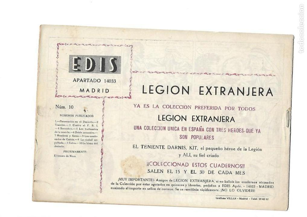 Tebeos: Legión Extranjera, Año 1954 Colección Completa son 22 Tebeos Originales + Almanaque del 1954 dificil - Foto 21 - 146353058