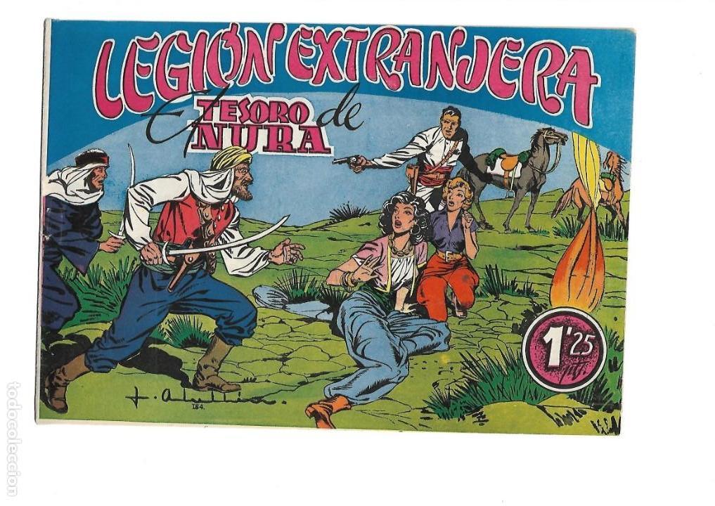 Tebeos: Legión Extranjera, Año 1954 Colección Completa son 22 Tebeos Originales + Almanaque del 1954 dificil - Foto 22 - 146353058