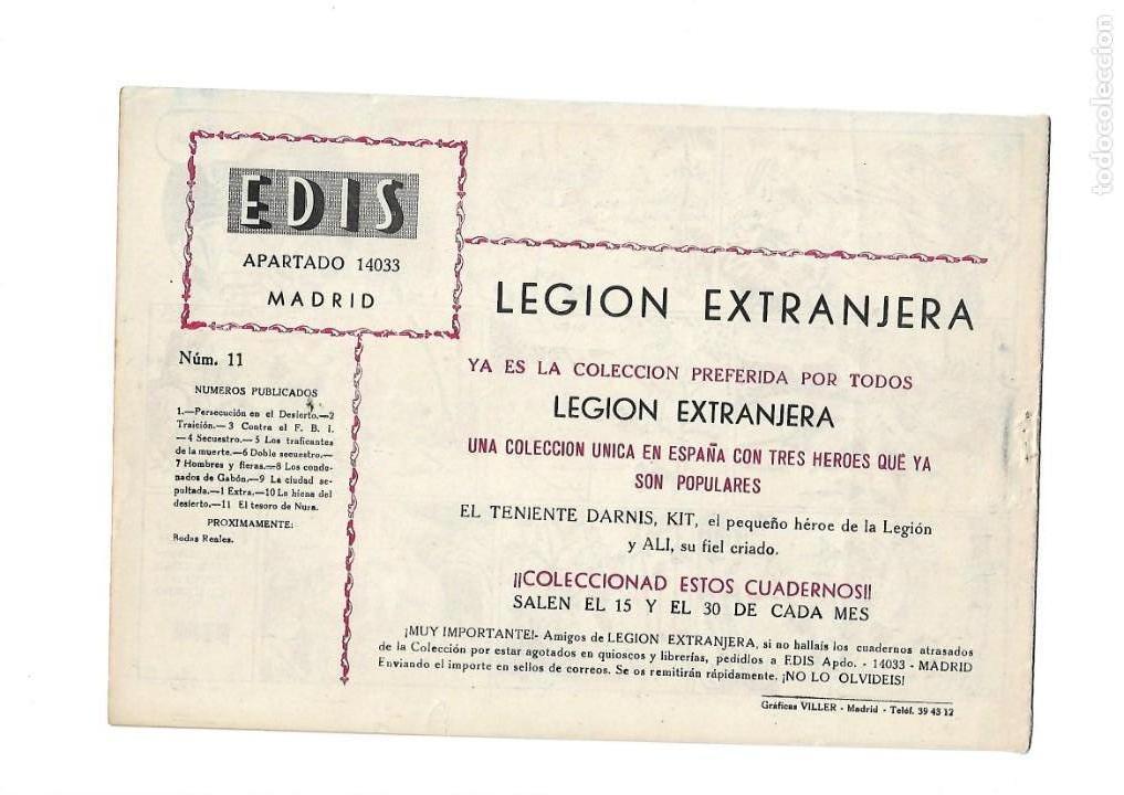 Tebeos: Legión Extranjera, Año 1954 Colección Completa son 22 Tebeos Originales + Almanaque del 1954 dificil - Foto 23 - 146353058