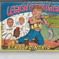 Tebeos: LEGIÓN EXTRANJERA, AÑO 1954 COLECCIÓN COMPLETA SON 22 TEBEOS ORIGINALES + ALMANAQUE DEL 1954 DIFICIL. Lote 146353058