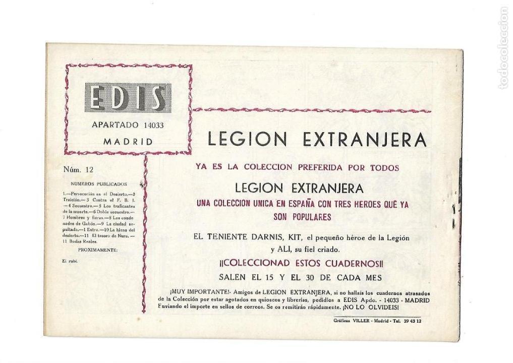 Tebeos: Legión Extranjera, Año 1954 Colección Completa son 22 Tebeos Originales + Almanaque del 1954 dificil - Foto 25 - 146353058