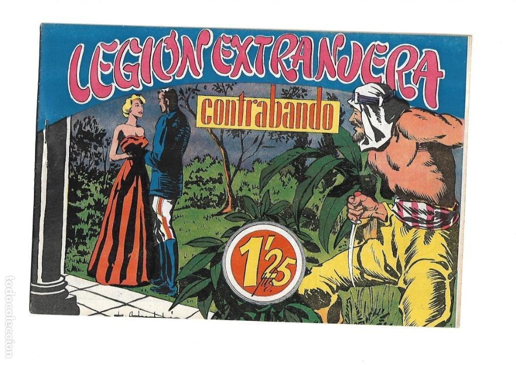 Tebeos: Legión Extranjera, Año 1954 Colección Completa son 22 Tebeos Originales + Almanaque del 1954 dificil - Foto 28 - 146353058