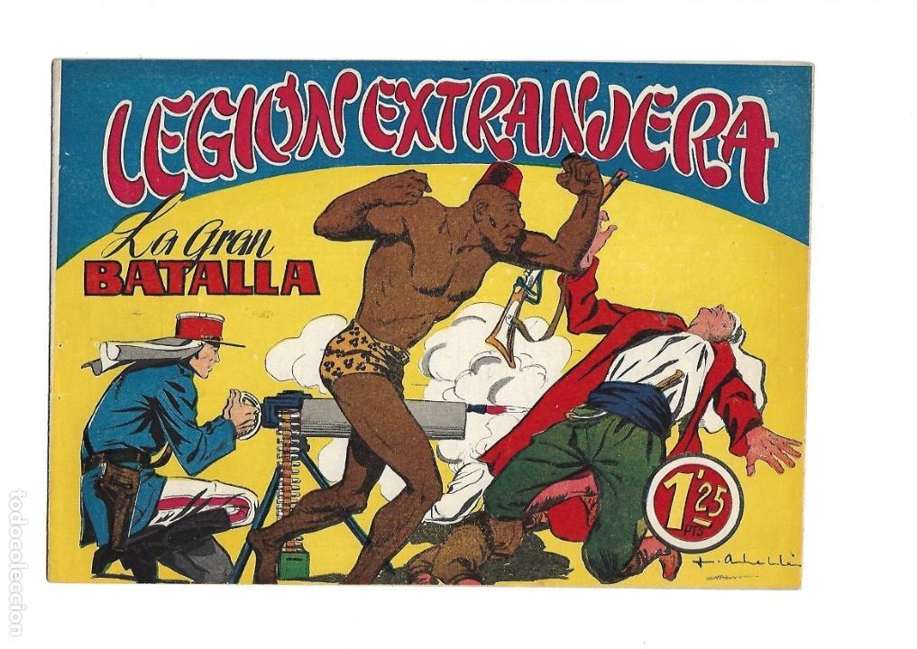 Tebeos: Legión Extranjera, Año 1954 Colección Completa son 22 Tebeos Originales + Almanaque del 1954 dificil - Foto 32 - 146353058