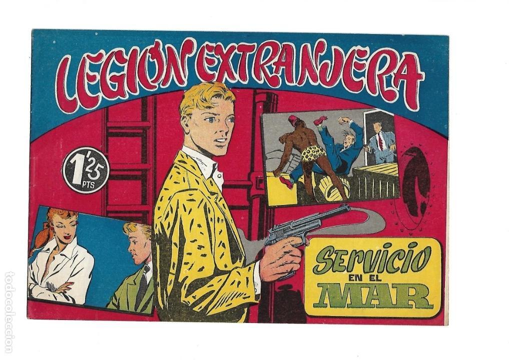 Tebeos: Legión Extranjera, Año 1954 Colección Completa son 22 Tebeos Originales + Almanaque del 1954 dificil - Foto 34 - 146353058