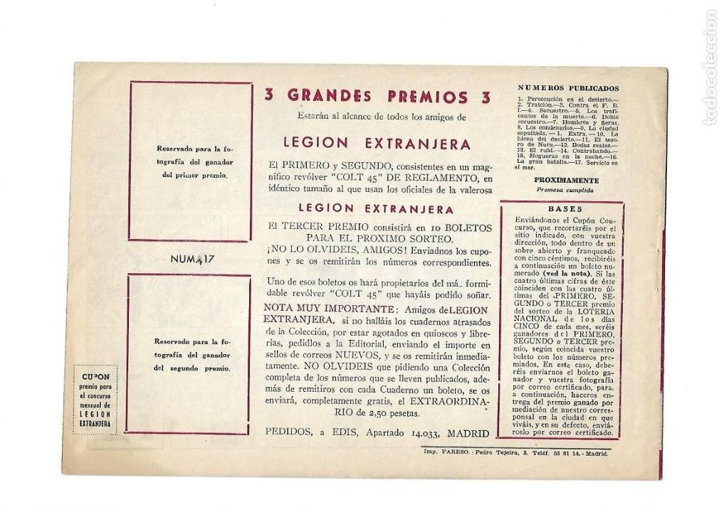 Tebeos: Legión Extranjera, Año 1954 Colección Completa son 22 Tebeos Originales + Almanaque del 1954 dificil - Foto 35 - 146353058