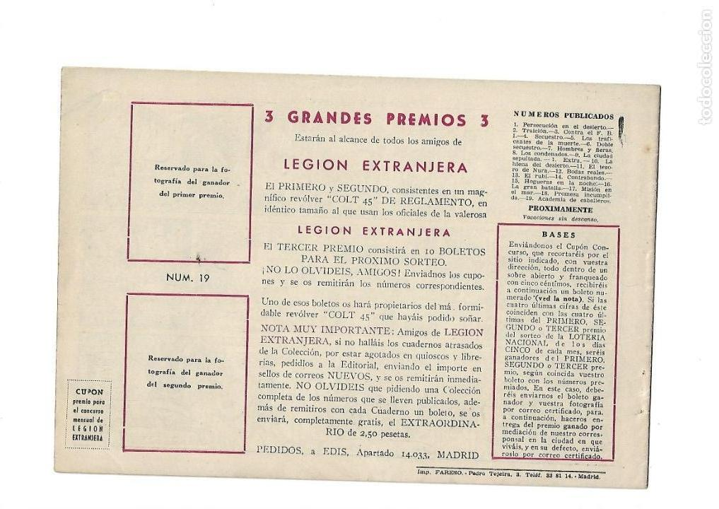 Tebeos: Legión Extranjera, Año 1954 Colección Completa son 22 Tebeos Originales + Almanaque del 1954 dificil - Foto 39 - 146353058
