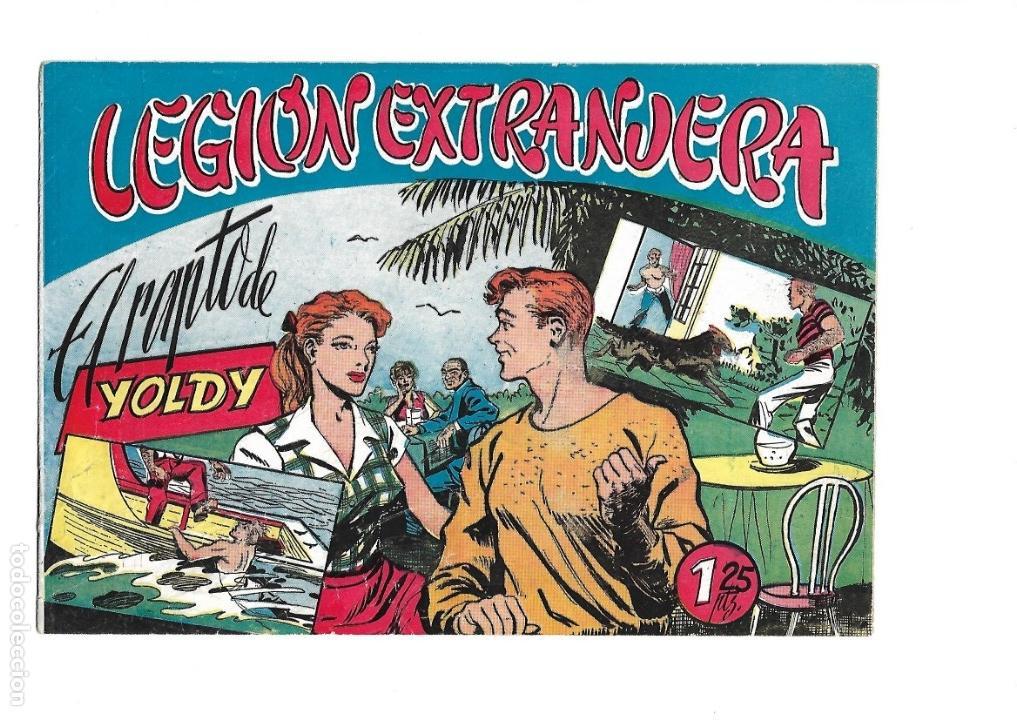 Tebeos: Legión Extranjera, Año 1954 Colección Completa son 22 Tebeos Originales + Almanaque del 1954 dificil - Foto 42 - 146353058