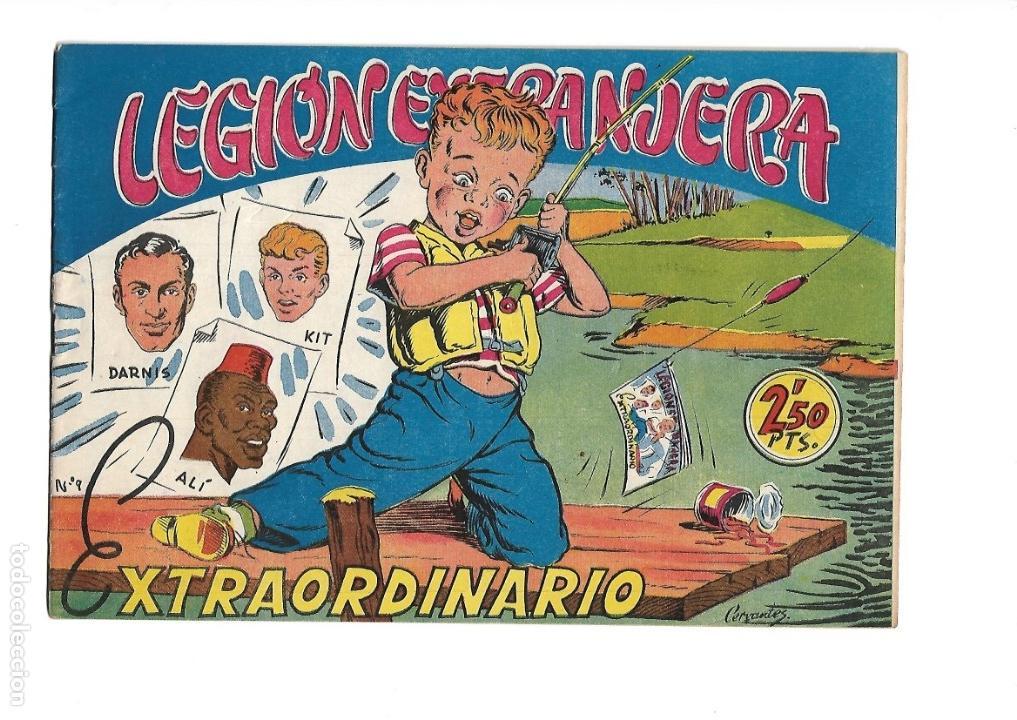 Tebeos: Legión Extranjera, Año 1954 Colección Completa son 22 Tebeos Originales + Almanaque del 1954 dificil - Foto 46 - 146353058