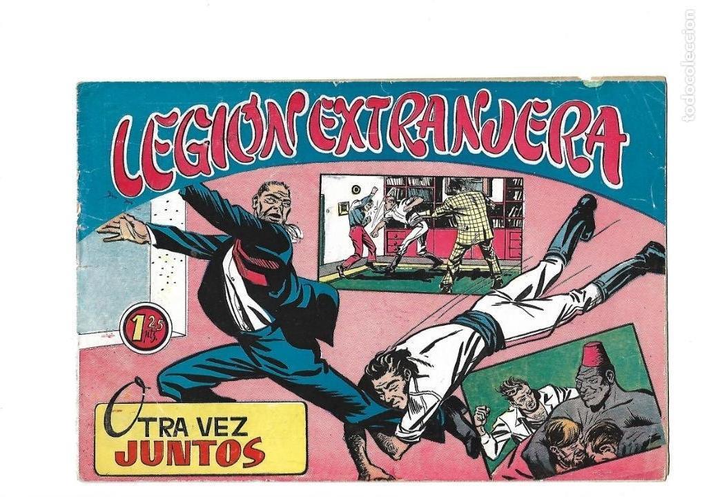 Tebeos: Legión Extranjera, Año 1954 Colección Completa son 22 Tebeos Originales + Almanaque del 1954 dificil - Foto 44 - 146353058