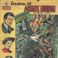 Tebeos: AGENTE NORTON AÑO 1951 COLECCIÓN COMPLETA SON 24 TEBEOS ORIGINALES + ALMANAQUE DEL 1953 DIFICIL. Lote 146433282