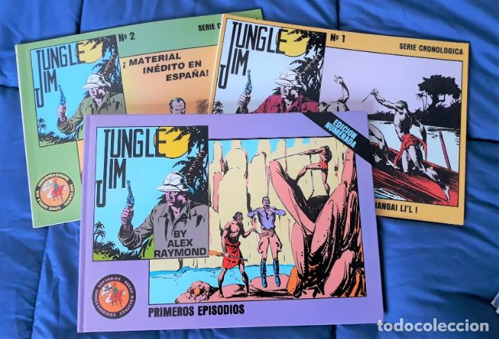 Tebeos: JUNGLE JIM - 3 TOMOS - ESEUVE - Foto 1 - 146511490