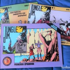 Tebeos: JUNGLE JIM - 3 TOMOS - ESEUVE. Lote 146511490