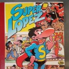 Tebeos: SUPER LOPEZ Nº 2, EDITORIAL BRUGUERA (1987) 1ª EDICIÓN TAPA DURA - 320 PG.. Lote 146519158