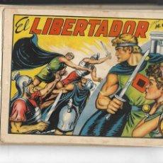 Tebeos: EL LIBERTADOR, AÑO 1950 COLECCIÓN COMPLETA SON 20 TEBEOS ORIGINALES DIBUJANTE MANUEL GAGO. Lote 146572006