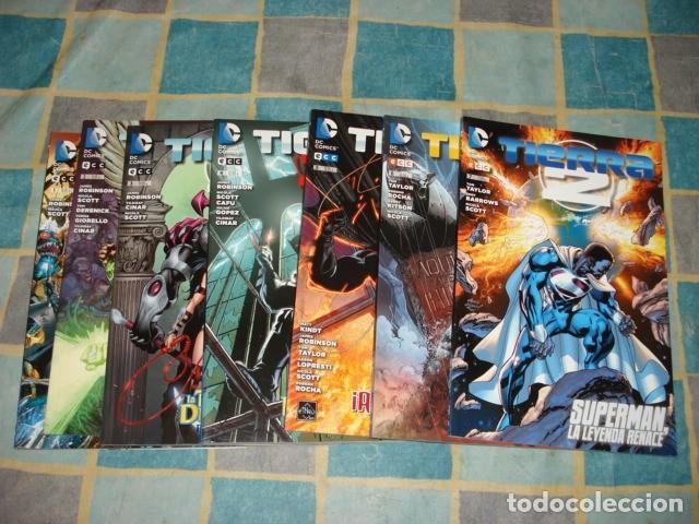 TIERRA 2, 2013, COMPLETA, 7 TOMOS ECC, MUY BUEN ESTADO (Tebeos y Comics - Tebeos Colecciones y Lotes Avanzados)