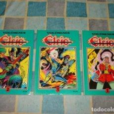 Tebeos: ELRIC, 1988, COLECCIÓN COMPLETA, 13 NÚMEROS EN 3 TOMOS, EDICIONES B, MUY BUEN ESTADO. Lote 268173514