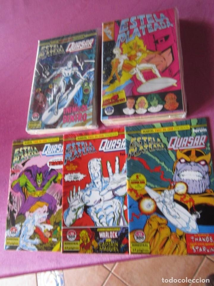 ESTELA PLATEADA 27 NUMEROS COMPLETA FORUM EN EXCELENTE ESTADO. (Tebeos y Comics - Tebeos Colecciones y Lotes Avanzados)