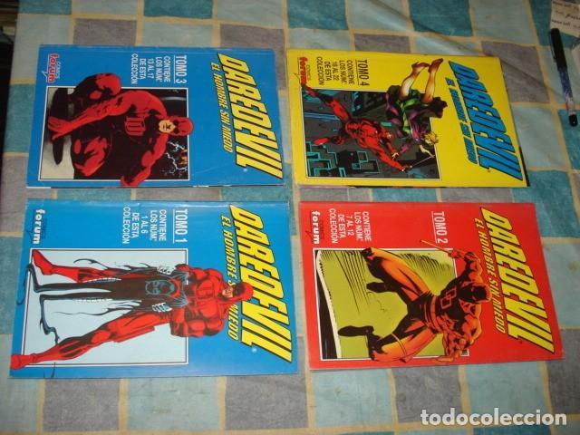 DAREDEVIL VOL. 2, 1996, COMPLETA, 22 NÚMEROS EN 4 TOMOS, MUY BUEN ESTADO (Tebeos y Comics - Tebeos Colecciones y Lotes Avanzados)