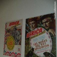 Tebeos: ÁFRICA, AÑO 1953 COLECCIÓN COMPLETA SON 2 TEBEOS ORIGINALES ESTAN SUPERNUEVOS EDITORIAL CLIPER. Lote 146708426