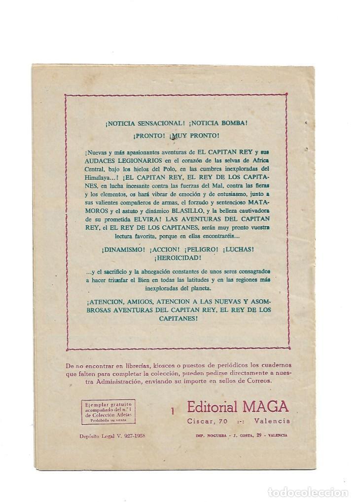 Tebeos: El Caballero de la Rosa, Año 1958 Colección Completa son 7 Tebeos Originales que estan Supernuevos - Foto 3 - 146709562