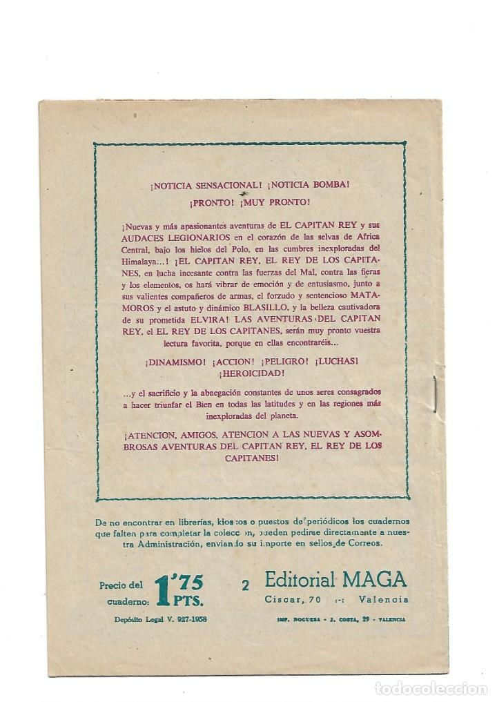 Tebeos: El Caballero de la Rosa, Año 1958 Colección Completa son 7 Tebeos Originales que estan Supernuevos - Foto 5 - 146709562