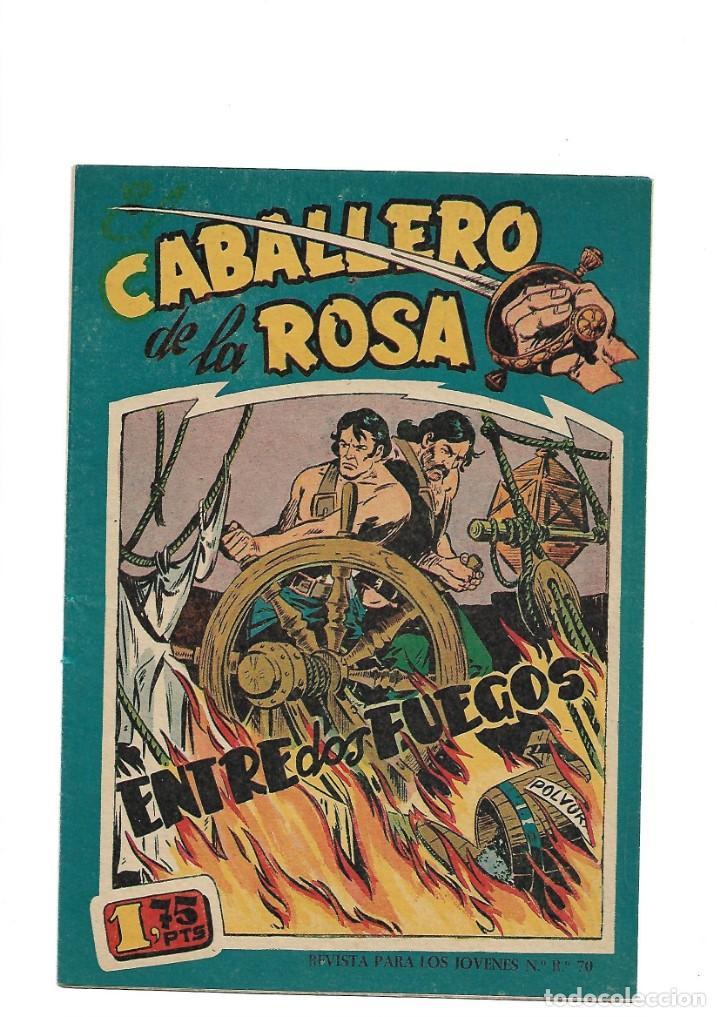 Tebeos: El Caballero de la Rosa, Año 1958 Colección Completa son 7 Tebeos Originales que estan Supernuevos - Foto 10 - 146709562