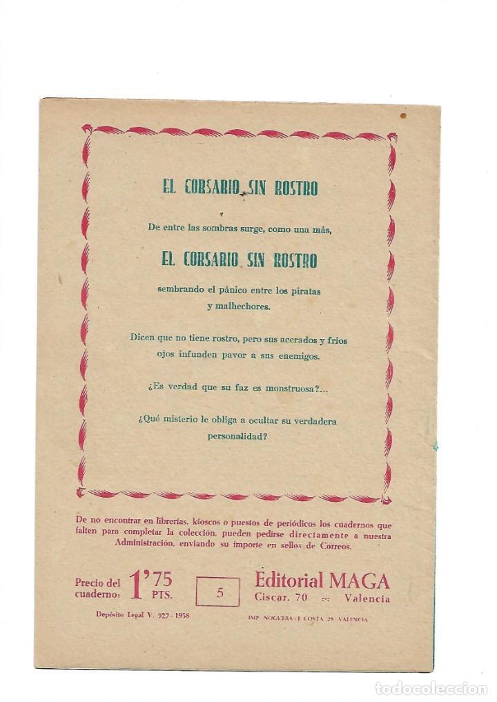 Tebeos: El Caballero de la Rosa, Año 1958 Colección Completa son 7 Tebeos Originales que estan Supernuevos - Foto 11 - 146709562