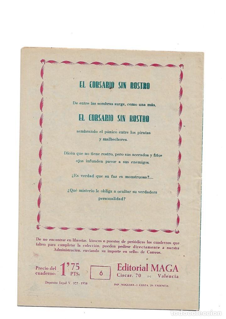 Tebeos: El Caballero de la Rosa, Año 1958 Colección Completa son 7 Tebeos Originales que estan Supernuevos - Foto 13 - 146709562