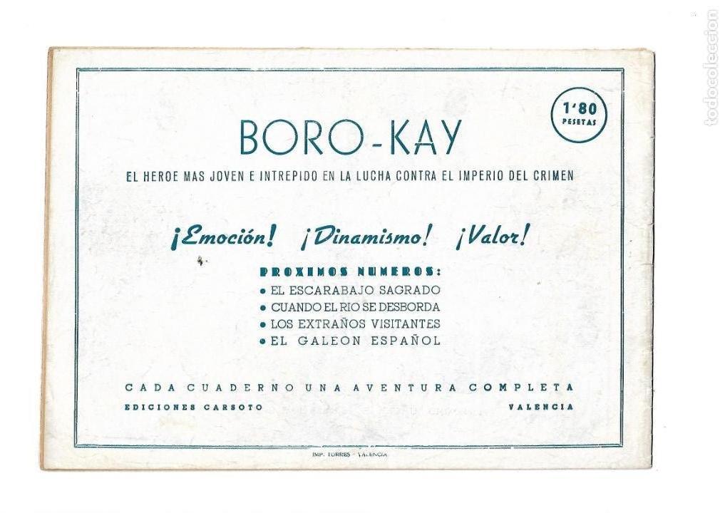 Tebeos: Aventuras de Boro-Kay, Año 1956 Colección Completa son 8. Tebeos Originales dibujos de José Luis - Foto 15 - 146915522