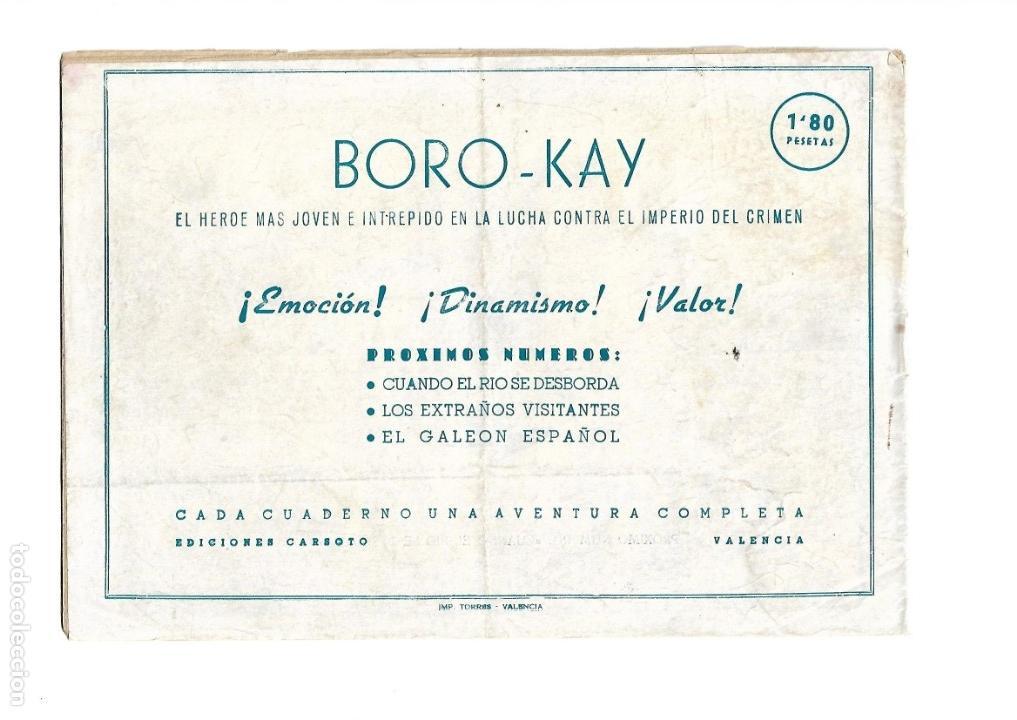Tebeos: Aventuras de Boro-Kay, Año 1956 Colección Completa son 8. Tebeos Originales dibujos de José Luis - Foto 17 - 146915522
