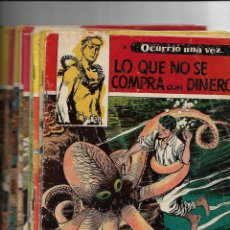 Tebeos: OCURRIÓ UNA VEZ AÑO 1957 COLECCIÓN COMPLETA SON 16. TEBEOS ORIGINALES NUEVOS DIBUJANTE BOIXCAR.. Lote 146925270