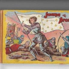 Tebeos: JUANA DE ARCO AÑO 1952 LIBRO DE TAPAS DURA QUE TIENE 100 PÁGINAS Y ES ORIGINAL DIBUJOS DE JAIME JUEZ. Lote 146972110
