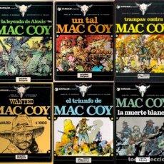 Tebeos: 12 TOMOS DE MAC COY, DEL GENIO DE A.H. PALACIOS DEL 1 AL 12 - GRIJALBO-DARGAUD - VER FOTOS. Lote 147055626