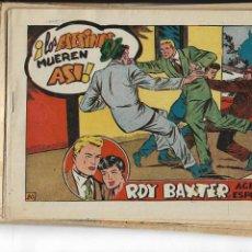 Tebeos: ROY BAXTER, AÑO 1957 COLECCIÓN COMPLETA SON 20 TEBEOS ORIGINALES QUE ESTAN NUEVOS. Lote 147066862