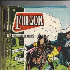 Tebeos: FULGOR, AÑO 1960 COLECCIÓN COMPLETA SON 20 TEBEOS ORIGINALES ES DIFICIL DE COMPLETAR. Lote 147074990
